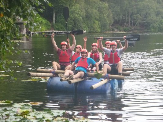 BAM trainees tackle the great outdoors